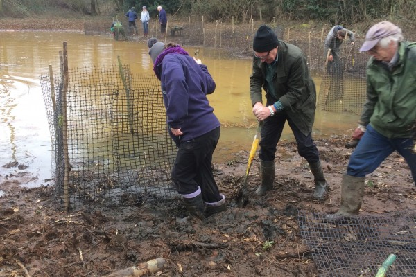 Volunteer with the Blackwater Valley Countryside Trust