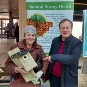 Natural Surrey Heath launch - free nest boxes