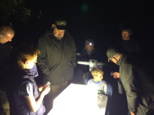 Moth survey at Tice's Meadow