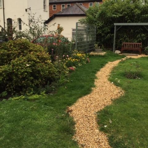 A new contemplation garden