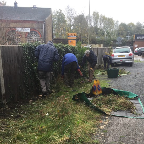 Preparing the plot for hedging