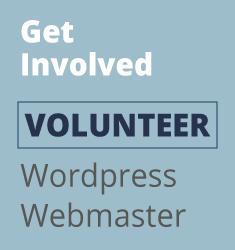 Volunteer Needed - Wordpress Webmaster