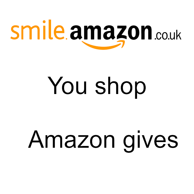 Support us at smile.amazon.co.uk