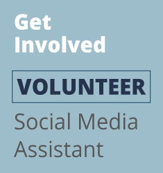 Volunteer Needed – Social Media Assistant